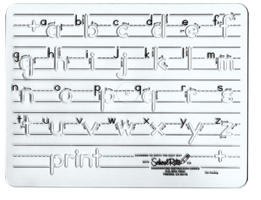 Excellence In Education: Handwriting Templates: Manuscript (lower ...