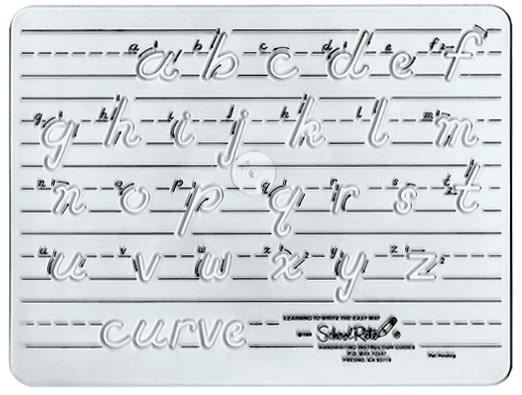 Excellence In Education: Handwriting Template:Transitional ...